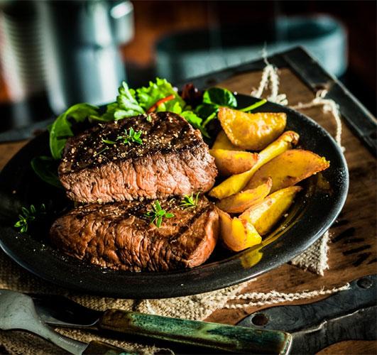 Colorado Buffalo Steak